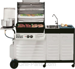 Brinkmann 810 3620 0. Brinkmann Backyard Kitchen ...